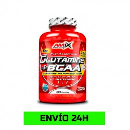 Glutamina + BCAA Powder 360...