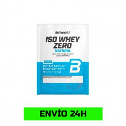 Iso Whey Zero 25gr Natural...