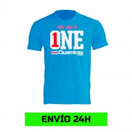 Camiseta Azul - Be the ONE...